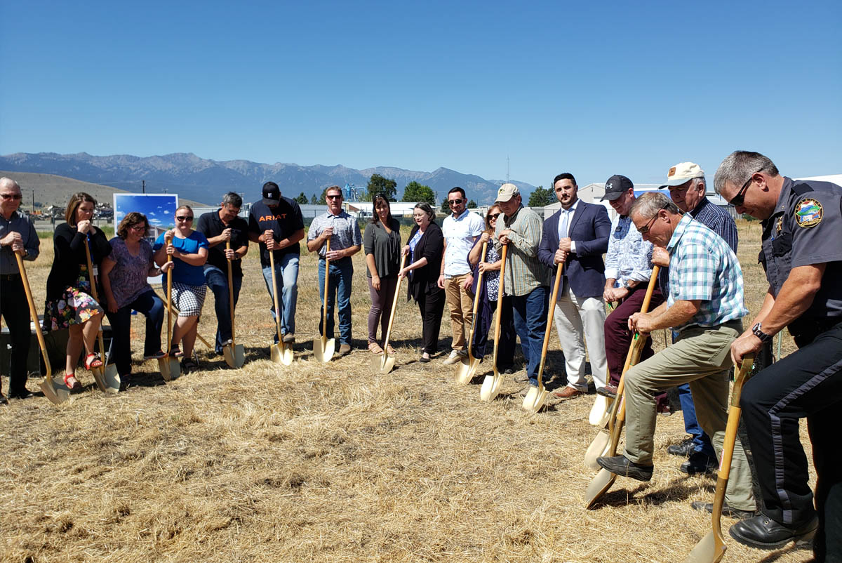 Groundbreaking, August 2019